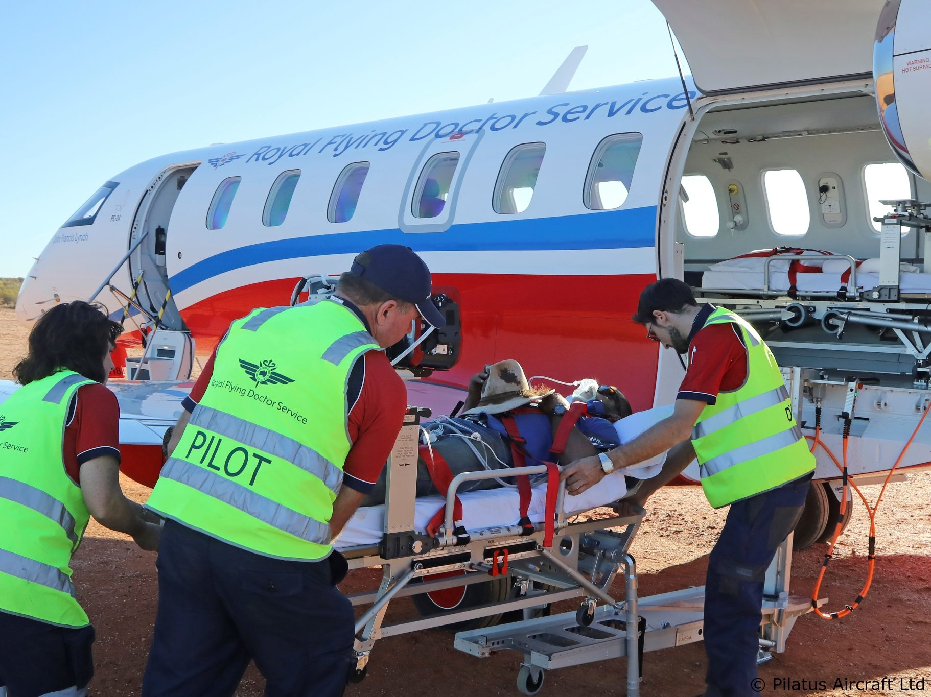 les équipes dédiées au transport aérien medical urgent